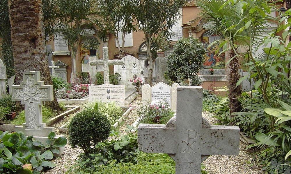 The Campo Santo Teutonico