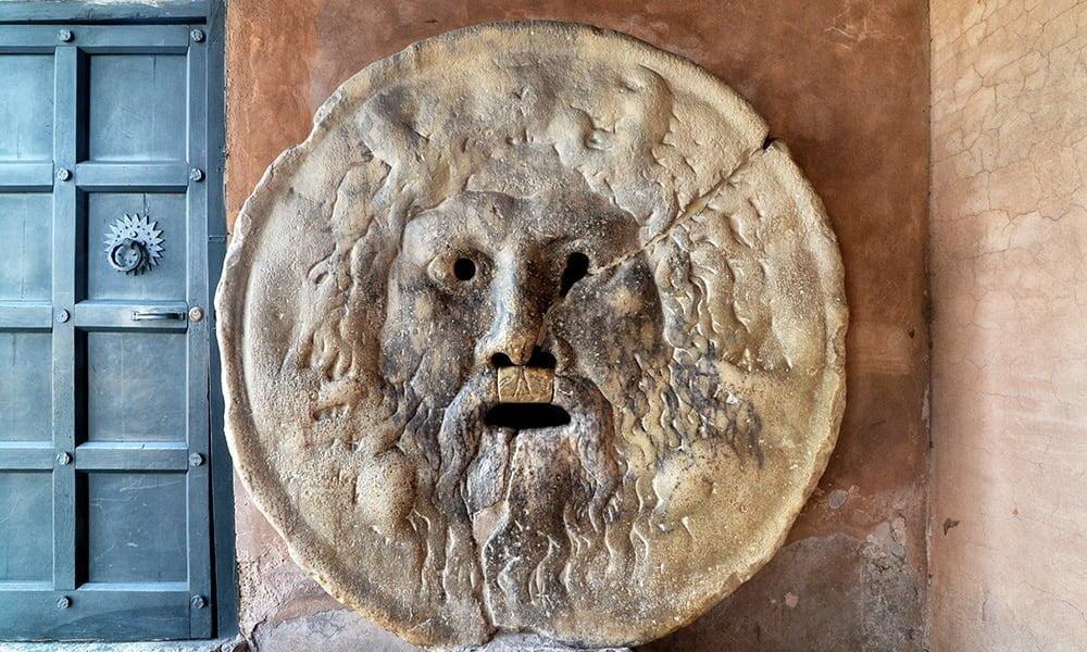 """Curious stories and places - """"Bocca della Verità"""" (Mouth of Truth)"""