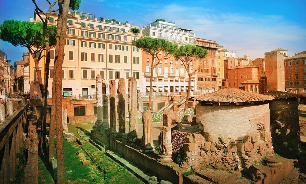 Kuriose Geschichten und Plätze - Largo di Torre Argentina