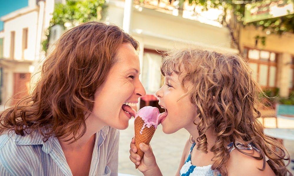 Kinderführung durch Rom mit Eisessen