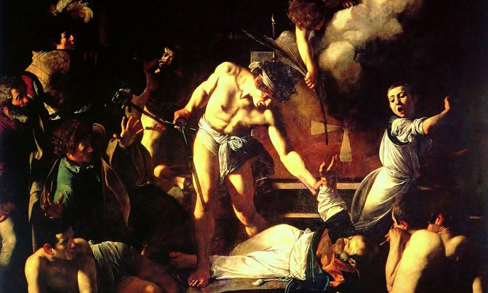 San Luigi dei Francesi - Das Martyrium des Hl. Matthäus
