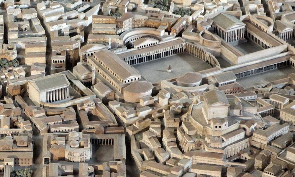 Museo della Cività Romana - Modell des antiken Rom