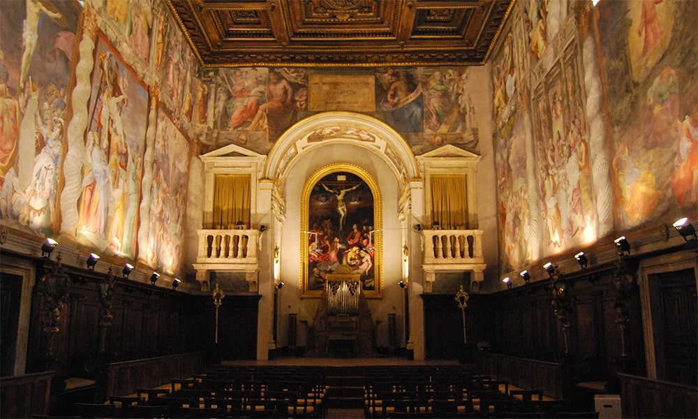 Exclusive guided tour: the Oratorio del Gonfalone