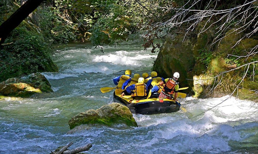 Rafting am höchsten Wasserfall Europas (nur 1 Stunde Fahrt von Rom)!