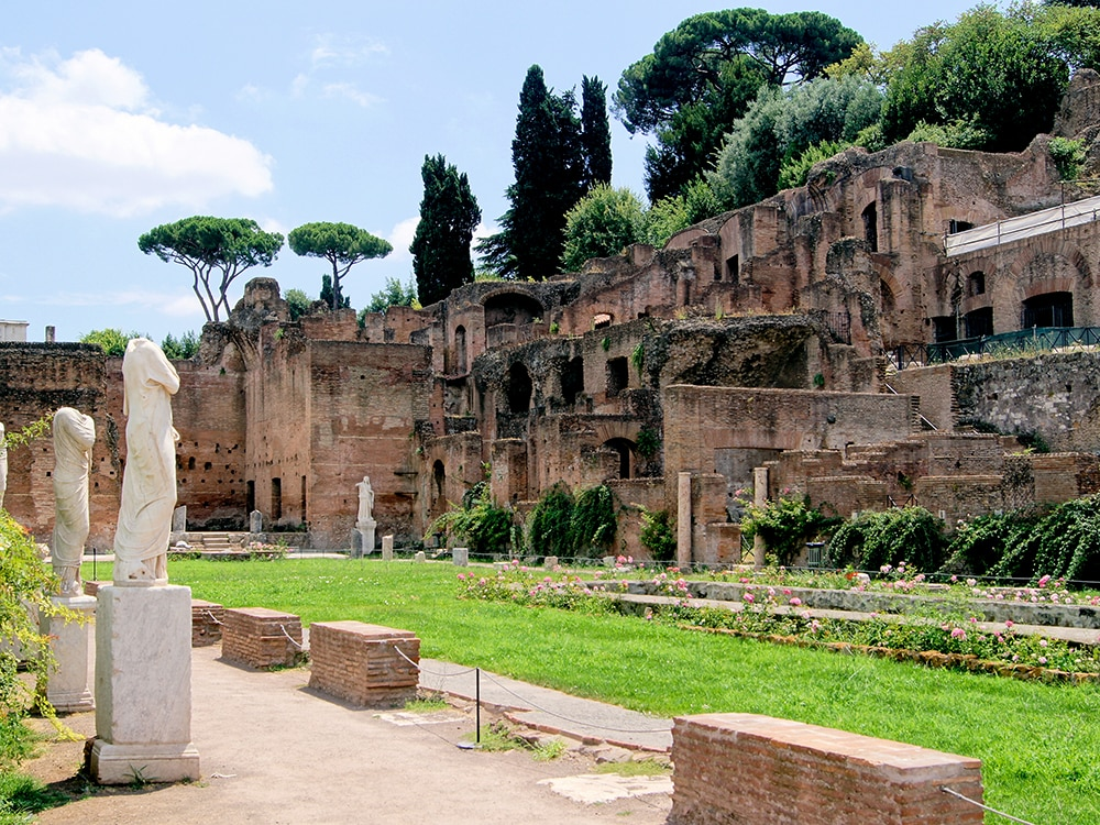 Roman Forum - House of Vestals