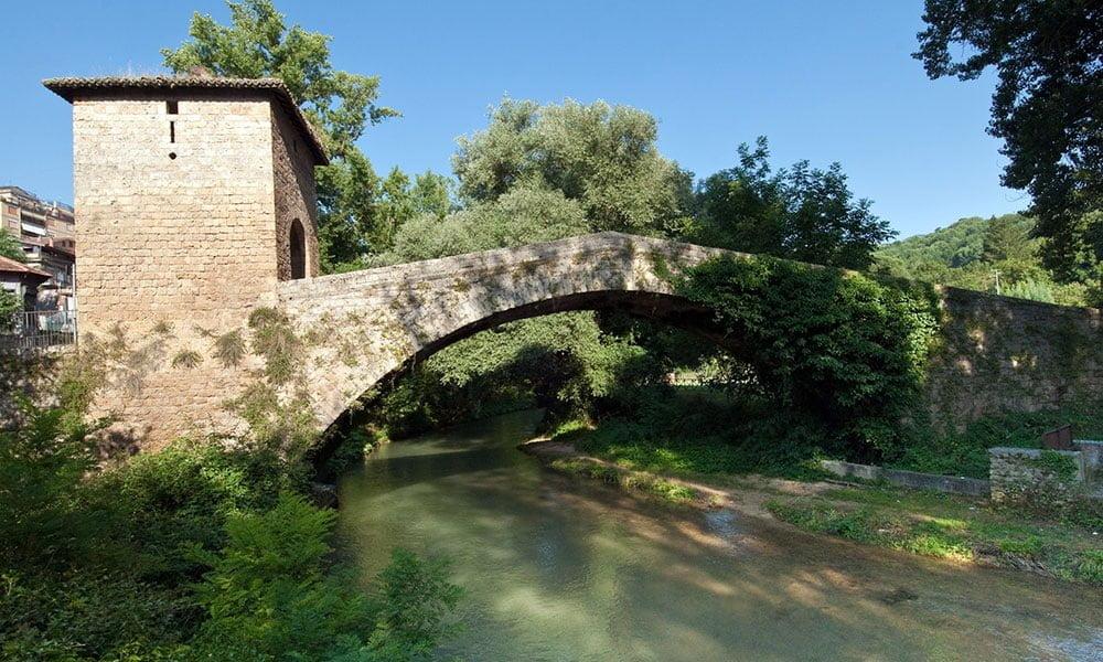 Saint Benedict Monastery - Saint Francis bridge