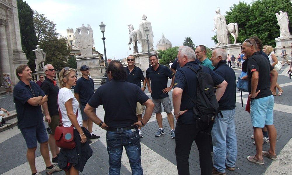 Schnitzeljagd durch das Kolosseum und das Forum Romanum