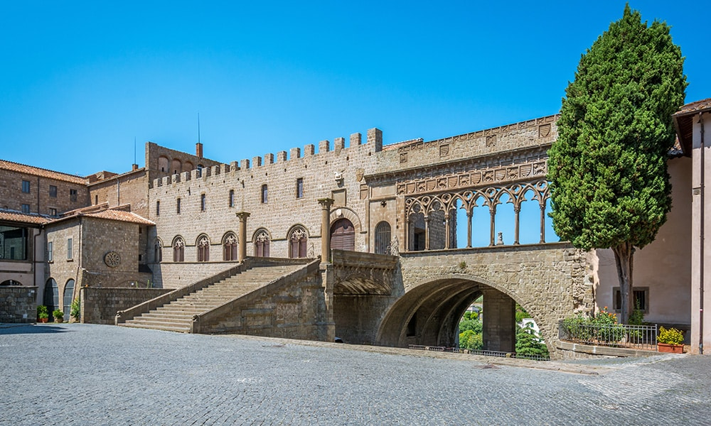 Viterbo - Palace of the Popes
