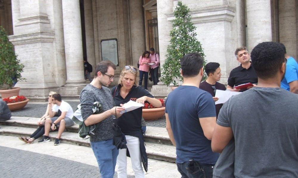 Teambuilding in Rom: 500 Jahre Leonardo da Vinci - Schnitzeljagd